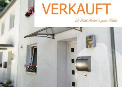Modernisiertes Reihenhaus in ruhiger Lage von Bramfeld – Garten, Terrasse, Kamin, Sauna