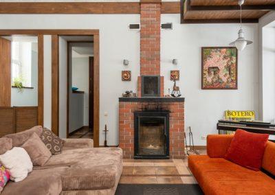 Wohnzimmer Haus Pommerby