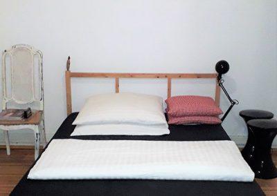 3-Zimmer-Altbauwohnung in Hamburg-Sankt Georg – Schlafzimmer