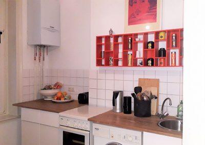 3-Zimmer-Altbauwohnung in Hamburg-Sankt Georg – Küche